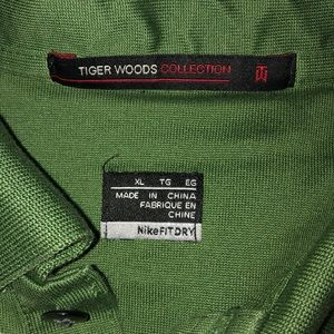 Tiger Woods Nike dri fit golf shirt size XL